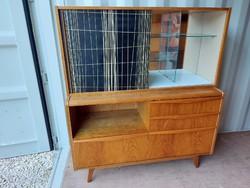 Bohumil landsman living room cabinet mid-century showcase retro sideboard