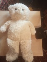 Cute big plush teddy bear 70 cm tall.New