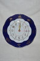 Zsolnay pompadour wall clock