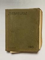 Régi zseb atlasz 1915-ből