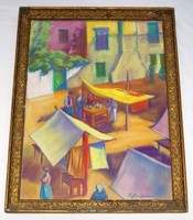 Pastel painting by Alexander Ziffer