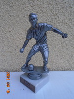Soccer player bwk-cup 2016 on a marble pedestal 2016 17.5 cm