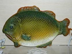 Large size granite fish serving