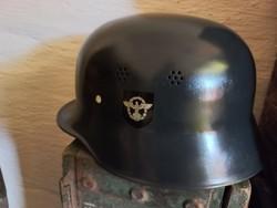 German ii.-Vh feuersutzpolizei helmet, beautiful!