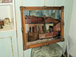 Signed oil, painting