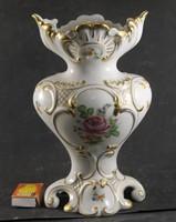 Herendi rózsás barokk váza 567