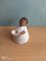 Kiss rose ilona ceramic figurine