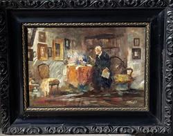 Péczely Antal (1891-1960): Műkereskedő
