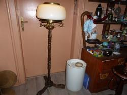 Old artistic floor lamp