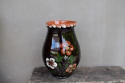 Glazed bastard vase