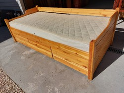 Nice condition claudia chest of drawers bed with mattress for sale.
