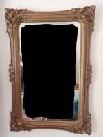 Hatalmas szalon  biedermeier tükör 132 cm x 89 cm