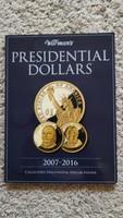 USA elnökök 1 dollár 15 PP + 1 BU  berakóban
