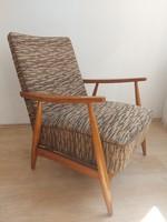 Retro Hungarian armchair mid-century armchair