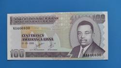 Burundi 100 Francs 2006 UNC