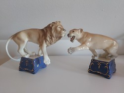 2 db nagyon ritka roayl dux cirkuszi oroszlán!