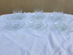 Glass coffee set for sale!