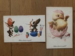 Aranyos Húsvéti képeslapok -  Szilas Győző  rajz    -    ár / db