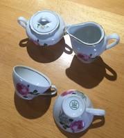 Kahla porcelain coffee spout + sugar holder + 2 cups