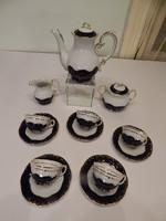 Zsolnay pompadour iii coffee set