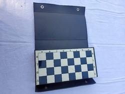 Retro magnetic chess.