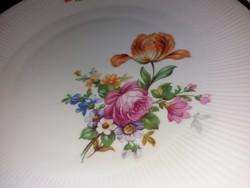 Wonderful flat plates with antique bouquet pattern, kahla