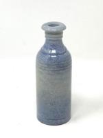 Különleges szürkés-kék színű és mázú kerámia ecet vagy olaj kiöntő -CZ