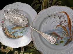 Antique fish serving spoon