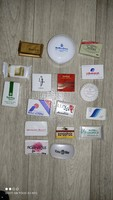 Vintage various rare mini / hotel soap 17 pieces together