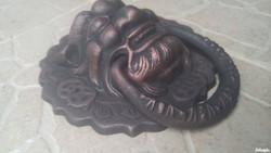 Oriental foo lion dragon dog door knocker cast iron non wrought iron industrial