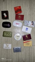 Vintage collectible rare mini / hotel soap with 13 pieces together