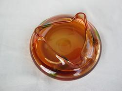 Retro ... Serious thick glass bowl