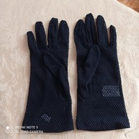 Fischer black, cotton fishnet, women's gloves, 8