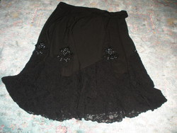 Black lacy skirt