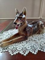Steffl fayencen ceramic dog
