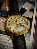 Orosz antik karóra Original Russia USSR Soviet Vintag Mechanical Wristwatches Slava Jeans 26 Jewels