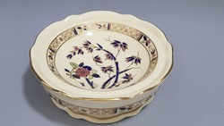 Zsolnay hand painted bamboo ring bowl