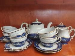 Zsolnay pompadour tea set