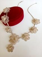 Antique silver necklace, necklace