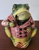 Viktoriánus humidor béka / frog /