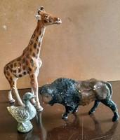 Antik gipsz játékfigurák