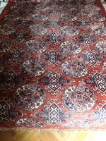 Gyönyörű, bársony mokett szőnyeg, terítő, rojtos. Méret: 266x120cm. OLCSÓBB!
