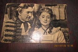 Ritka képeslap-Bessenyei Ferenc-Ruttkay Éva