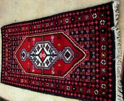 Brilliantly beautiful! Hand-knotted meymeh rug!