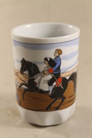 Zsolnay fairy tale scene mug 586