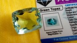 58.65 Carat Brazilian Topaz with Gemstone Certificate