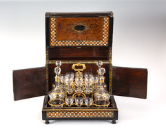 Boulle style drink set