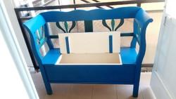 Arm chest, arm bench, opening chest garden furniture