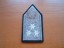 Mh Lieutenant General's rank on T-shirt cap # + zs