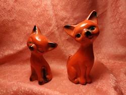 2 pcs. Design porcelain kitten